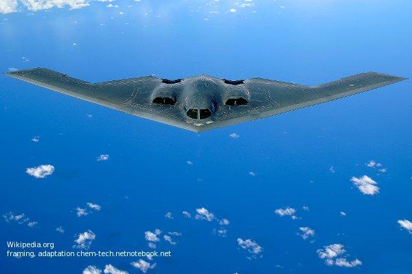 Бомбардировщик-ракетоносец Б-2 имеет нечеловеческий внешний вид.